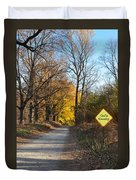 Gods Country Duvet Cover by Bill Cannon