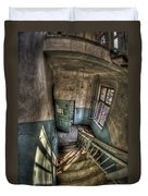 Going Down  Duvet Cover by Nathan Wright