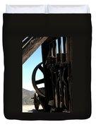 Gold Mining Stone Crusher Duvet Cover by LeeAnn McLaneGoetz McLaneGoetzStudioLLCcom