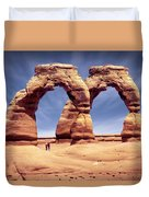 Golden Arches? Duvet Cover by Mike McGlothlen