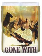 Gone With The Wind Duvet Cover by Georgia Fowler