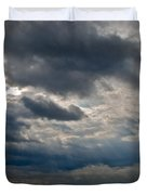 Gozo Skies Duvet Cover by Eric Tressler