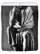 Greek Philosopher Duvet Cover by Photo Researchers