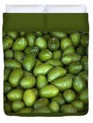 Green Olives Duvet Cover by Joana Kruse