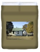 Griffiths Chapel Duvet Cover by Brian Wallace