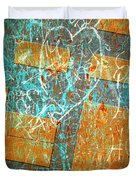 Grunge Background 6 Duvet Cover by Carlos Caetano