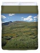 Guanella Pass Horizon Duvet Cover by Michael Kirsh
