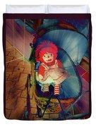 Happy Dolly Duvet Cover by Susanne Van Hulst