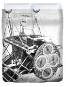 Harrisons First Marine Timekeeper Duvet Cover by Photo Researchers