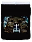 Haunted House Duvet Cover by Cheryl Young