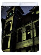 Haunted House Duvet Cover by Mark Sellers