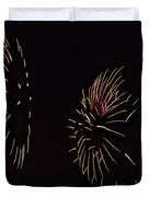 Have a Fifth on the Fourth Duvet Cover by Susan Candelario