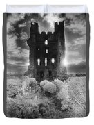 Helmsley Castle Duvet Cover by Simon Marsden