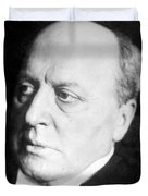 Henry James, American-born British Duvet Cover by Photo Researchers