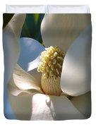 Hidden Magnolia Duvet Cover by Carol Groenen