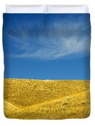 Hills And Clouds, Cypress Hills Duvet Cover by Mike Grandmailson