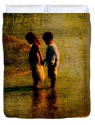His Kindergarten Sweetheart Duvet Cover by Susanne Van Hulst