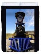 Historic Jupiter Steam Locomotive Duvet Cover by Gary Whitton