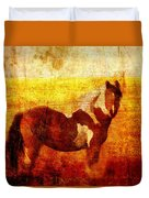 Home Series - Strength And Grace Duvet Cover by Brett Pfister