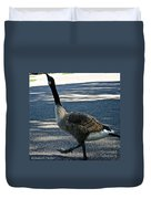 Honk And Strut Duvet Cover by Susan Herber