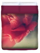 I Wonder If You Ever Miss Me Duvet Cover by Laurie Search