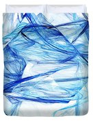 Ice 002 Duvet Cover by Barry Jones