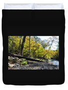 If A Tree Falls Duvet Cover by Bill Cannon