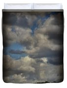If The World Ends Today Duvet Cover by Laurie Search