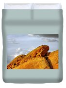 Imagination Runs Wild - Valley Of Fire Nevada Duvet Cover by Christine Till
