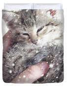 In Safe Hands II Duvet Cover by Amy Tyler
