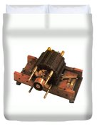 Induction Motor Duvet Cover by Photo Researchers
