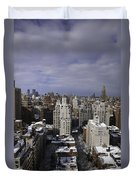 Inside Looking Out Duvet Cover by Madeline Ellis