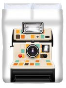 Instant Camera Duvet Cover by Setsiri Silapasuwanchai