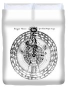 Integrae Naturae, 17th Century Duvet Cover by Science Source