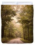 Into The Mists Duvet Cover by Lois Bryan