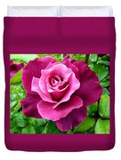 Intrigue Rose Duvet Cover by Will Borden