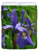 Irises Duvet Cover by Randi Shenkman