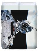 Iss Module Unity Duvet Cover by Science Source