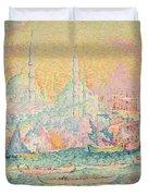 Istanbul Duvet Cover by Paul Signac