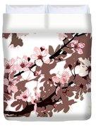 Japanese Blossom  Duvet Cover by Sarah O Toole