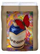 Jar Of Dreams Duvet Cover by Garry Gay