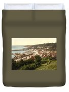 Jersey - Saint Aubins - Channel Islands - England Duvet Cover by International  Images