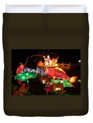 Jiang Tai Gong Fishing Duvet Cover by Semmick Photo
