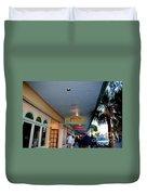 Jimmy Buffet's Margaritaville Key West Duvet Cover by Susanne Van Hulst