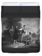 John Andre Duvet Cover by Photo Researchers