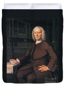 John Harrison, English Inventor Duvet Cover by Photo Researchers