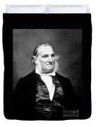 John James Audubon, French-american Duvet Cover by Science Source