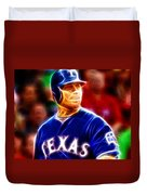 Josh Hamilton Magical Duvet Cover by Paul Van Scott