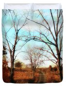 Journey To The Past Duvet Cover by Bill Cannon