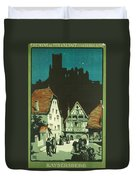 Kaysersberg Alsace Duvet Cover by Georgia Fowler
